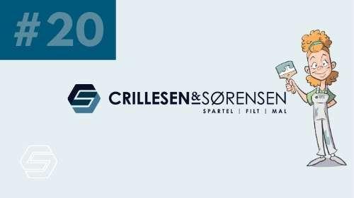 Crillesen & Sørensen - Mal af Loft og Vægge #cogs