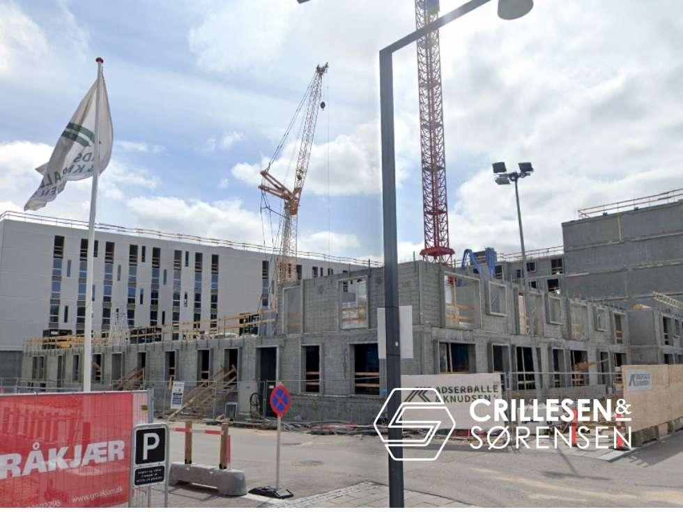 Crillesen & Sørensen - Nybyg 20 lejligheder & 2 trapper - #cogs